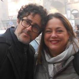 Marco Morello e Michela Angeletti